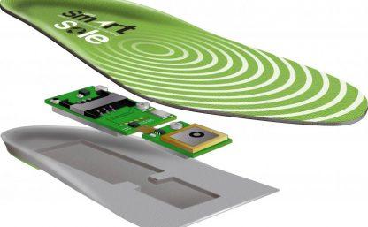 Isärplockad GPS Smartsole (Positioneringslarm)